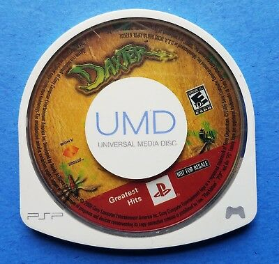 Daxter 2006 Sony UMD PSP Game Disc Only