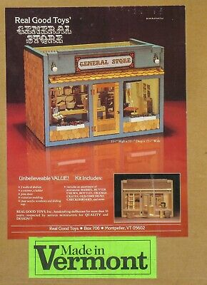 Real Good Toys General Store Kit 1:12 Scale Dollhouse Usa New In Unopened Box
