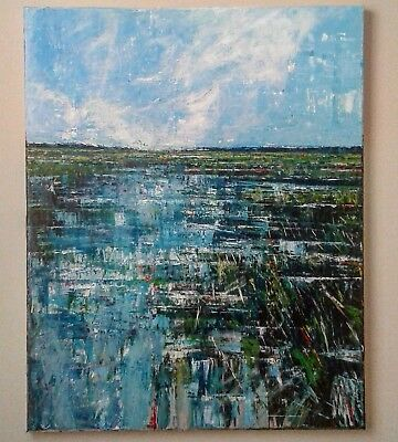Original art for sale by American artist abstract impressionism landscape
