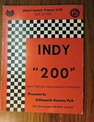 Indy 200 at Indianapolis Race Park 1968