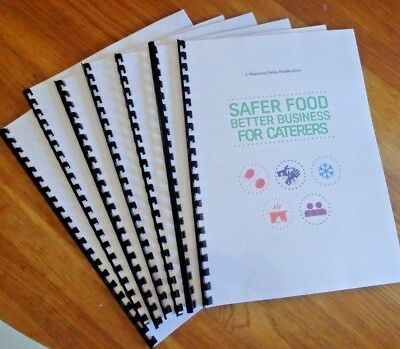 Safer Food Better Business Caterers Restaurant Pack SFBB 2019 with 2 Year diary