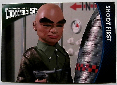 THUNDERBIRDS 50 YEARS - Card #15 - Gerry Anderson - Unstoppable Cards Ltd 2015