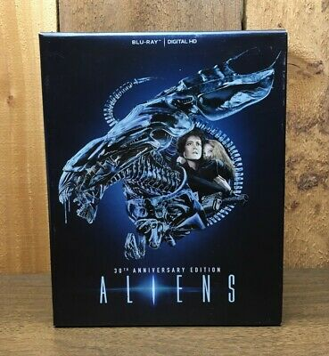 Aliens 30th Anniv. Edition Blu-ray Digital HD ( TONS OF EXTRA COLLECTIBLES!!!! )