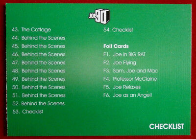 JOE 90 - CHECKLIST B - Card #54 - GERRY ANDERSON COLLECTION - Unstoppable 2017