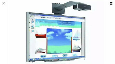 Interactive Smart Board SB680 & Smart UF65 DLP Short-throw projector*