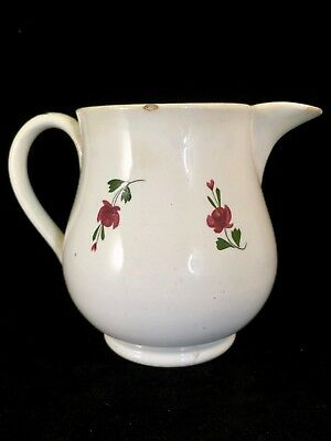 Early Antique Sprigware Pearlware Cream Pitcher