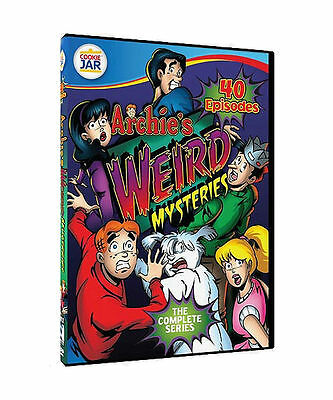 New Archies Weird Mysteries: The Complete Series DVD 4-Disc Set, 40 Episodes