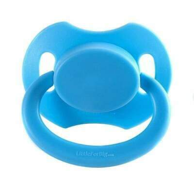 Baby Bear Pacis Blue Adult Pacifier (LittleForBig Bigshield Generation 2)
