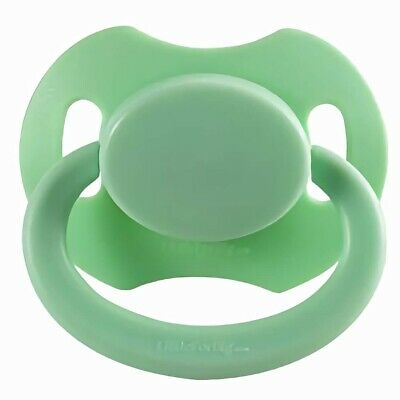 Baby Bear Pacis Green Adult Pacifier (LittleForBig Bigshield Generation 2)