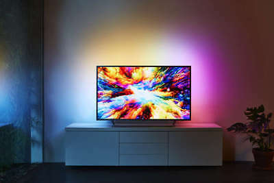 Philips 55PUS7303 Ambilight 3-seitig 4K UHD TV Smart TV  Android