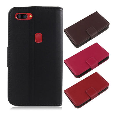 For Elephone/Umi Phone - Luxury Genuine Real Leather Flip Case Wallet Cover Skin