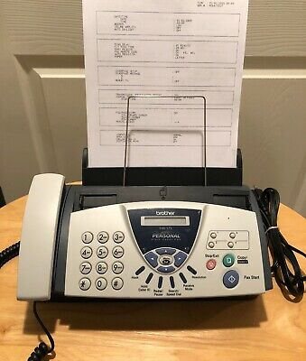 Brother Fax-575 Personal Plain Paper Fax Phone and Copier With Ink Cartridge