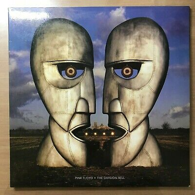Pink Floyd - The Division Bell Korea 1994 Vinyl LP With Insert