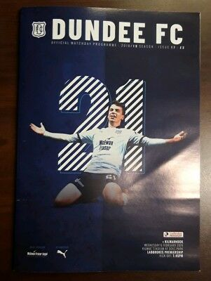 Dundee V Kilmarnock 6/2/2019 Programme Killie Dees Scottish Premiership