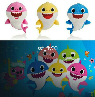 2019 Baby Shark Plush Singing Plush Toys Music Doll English Song Gift for kids