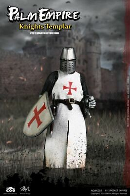 COOMODEL 1/12th Palm Empire Series Knights Templar NO.PE002 Collectable Figure
