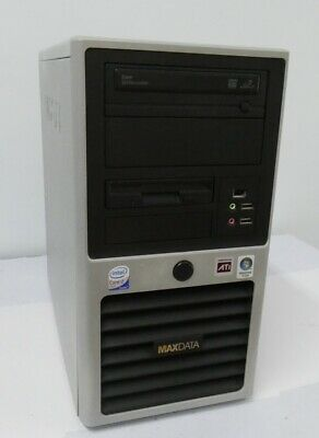 Maxdata Favorit Pc Computer Intel Core 2 Duo 2.ghz  4Gb Hdd 160Gb Vista B.