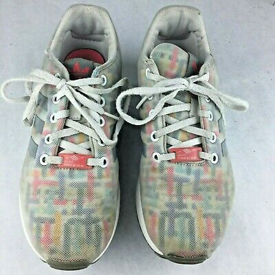 6eab1b416 Adidas ZX Flux Shoes Torsion B27584 Womens Multicolor Athletic Shoes Size 5  US
