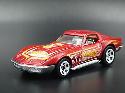1969 69 Chevy Chevrolet Corvette Stingray 1:64 Escala Diorama de Metal Modelo