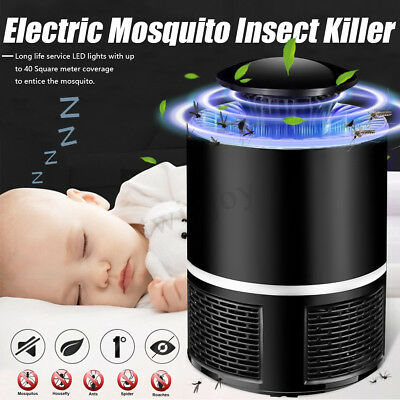 USB Mosquito Insect Killer Electric LED Light Fly Bug Zapper Catcher Trap Lamp !