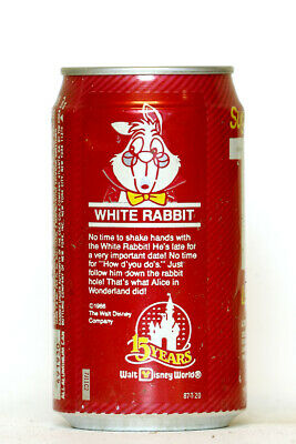 1987 TAB can from the USA, White Rabbit
