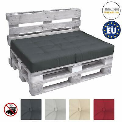 1 Seat Pad Euro Pallet Cushion ECO Elements In-Outdoor Pad 120x80x15cm Grey