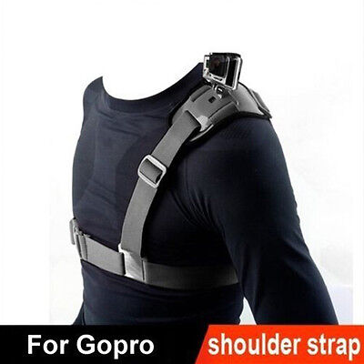 For Go Pro Shoulder Chest Strap Mount Harness Belt Hero 3 3+ 4 session`Accessory