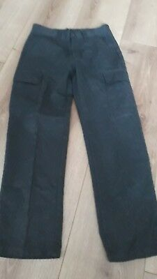 Grey Trousers Straight Left Age 10 From Next