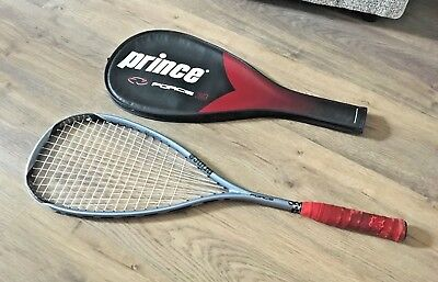 Prince Force 3 Sierra Ti Squash Racket- Graphite/ Titanium- With Case- Rare