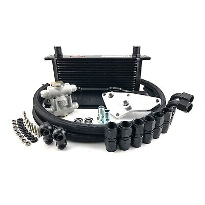 HEL Performance Oil Cooler Kit BMW E90 E91 3 Series N54 Engines - Thermostatic