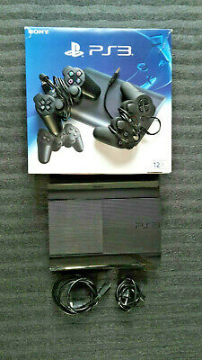 Sony Playstation PS3 Konsole, 2 Controller, 8 Spiele - guter Zustand