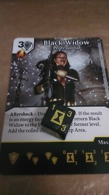 Dice Masters Amazing Spider-Man - #109 Black Widow - RARE