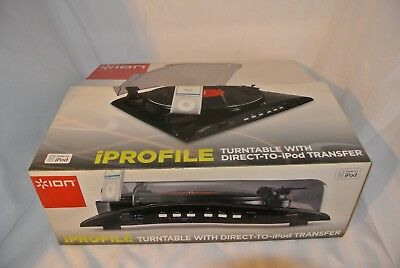 Ion iPROFILE Turntable Direct to iPod iPhone Transfer 4s 3gs vinyl recorder mp3