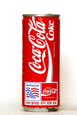 1994 Coca Cola can from Korea, World Cup USA94 (250ml)