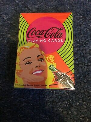 Coca Cola Playing Cards Still Sealed New