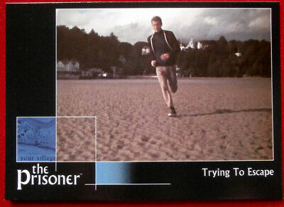 THE PRISONER Auto Series - Volume 1 - TRYING TO ESCAPE - Card #09 Cards Inc 2002