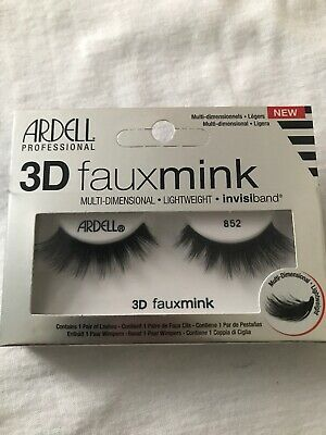 53db4ffe8f1 ARDELL NEW 3D Fauxmink Invisiband Eyelashes 852 - $7.99 | PicClick