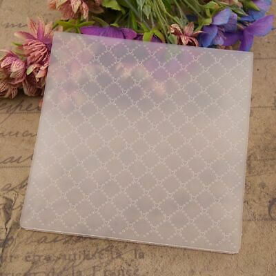 Plastic Embossing Folder Template DIY Scrapbook Photo Album Card Making Decor