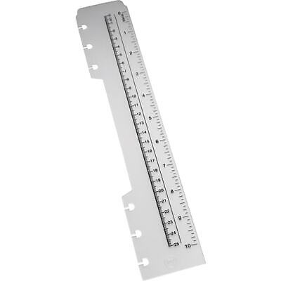 Staples A4 Arc System Durable Poly Ruler - New - Free P&P
