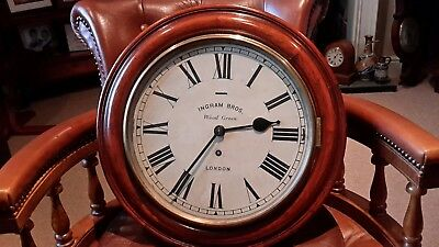 12in dial. .Ingram  Bros. Wood Green. Platform movement