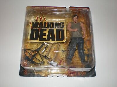 Walking Dead Series One DARYL DIXON Carded Figure McFarlane Toys Horror Zombie 1