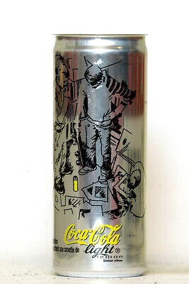 2000's Coca Cola Light Lemon can from France (250ml)