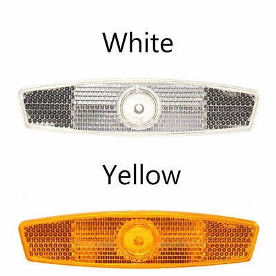 Mountain Lamp Bicycle Spoke Reflector Plastic 2pcs Accessories Warning Lights