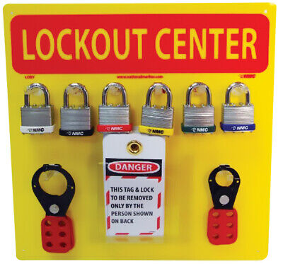 Lockout Center With Yellow Backboard