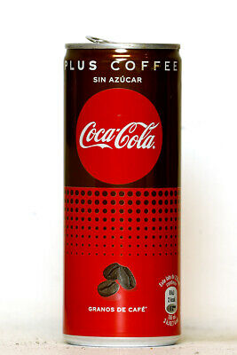 2000's Coca Cola Plus Coffee can from Spain (250ml)