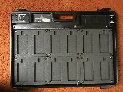 Behringer PB1000 Pedal board with Power Supply (Mint)