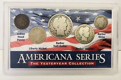 Americana Series – The Yesteryear Collection – Five Coin Set