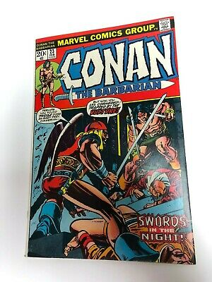 Conan the Barbarian #23  First appearance of Red Sonja