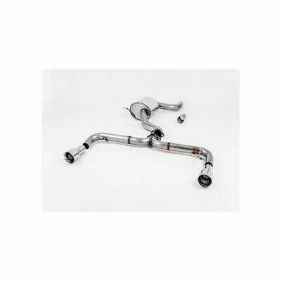 Direnza Stainless Steel Cat Back Exhaust System For Vw Golf Mk6 2 0