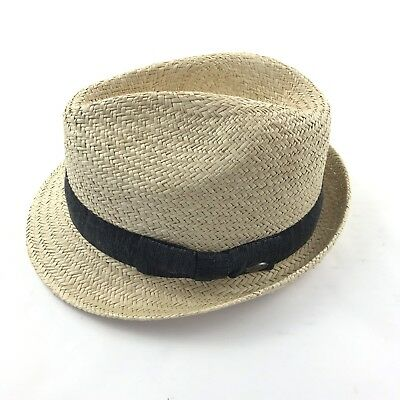 Bailey of Hollywood Men s Fedora 100% Palm Straw Hat Center Crease Size  Large d821d4ad2789